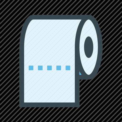 Bathroom, paper, restroom, roll, toilet icon - Download on Iconfinder