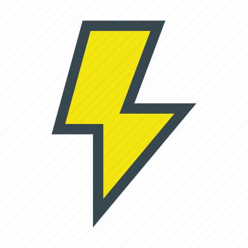 activity, bolt, energy, lightbolt, lightning, notification, power icon