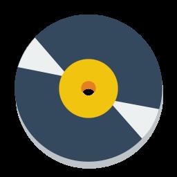 disc, vinyl icon