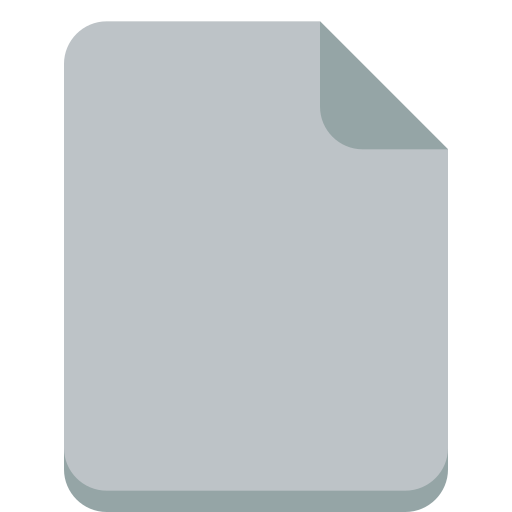 empty, file icon