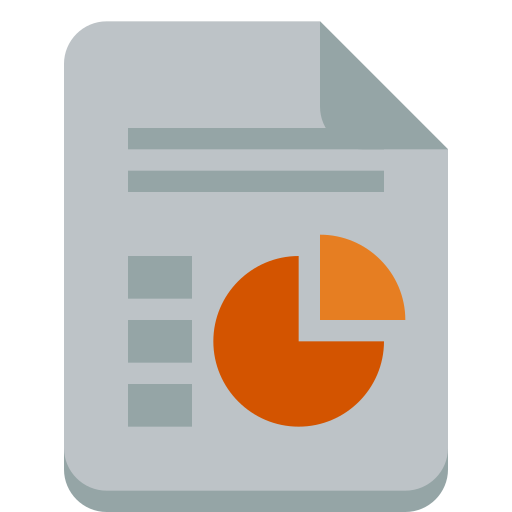 file, powerpoint icon