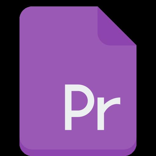 file, premiere icon