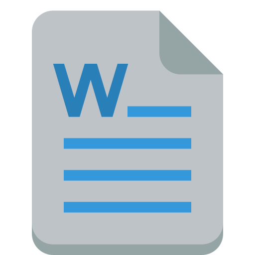 file, word icon