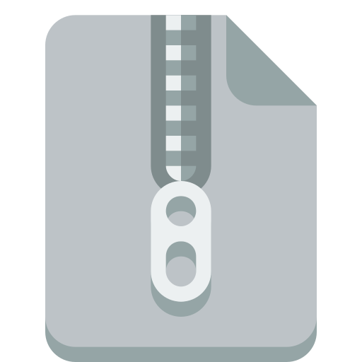 file, zip icon