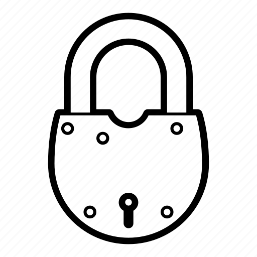 lock, locked, padlock, private, protection, safe, security icon
