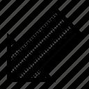 align, arrow, bottom, left, orientation, position icon