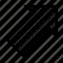 align, arrow, orientation, position, right, top