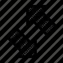 arrows, bottom, left, reverse, right, sort, top icon