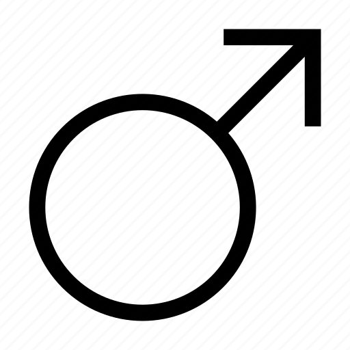 gender, male, man, sign icon
