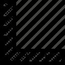 angle, degree, measurement, ninety, ruler icon