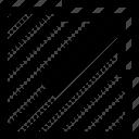 arrow, external, link, ui, url, web icon