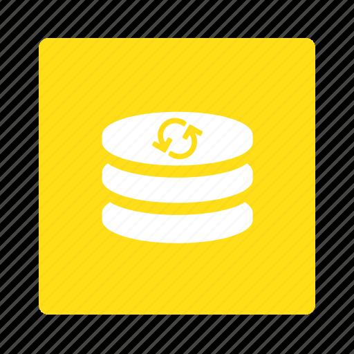 backup, data, database, disk, drive, server, storage icon