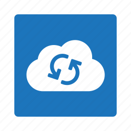cloud, clouds, refresh, reload, sync icon