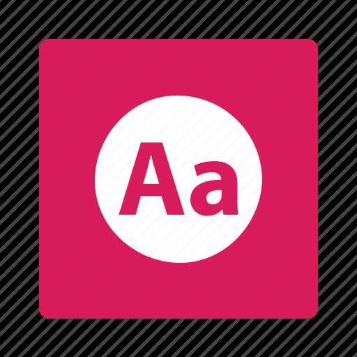 language, letters icon