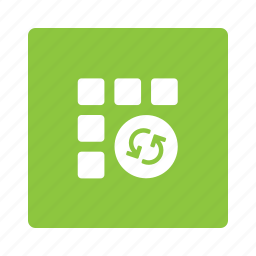 app, applications, apps, refresh, reload, sync, update icon