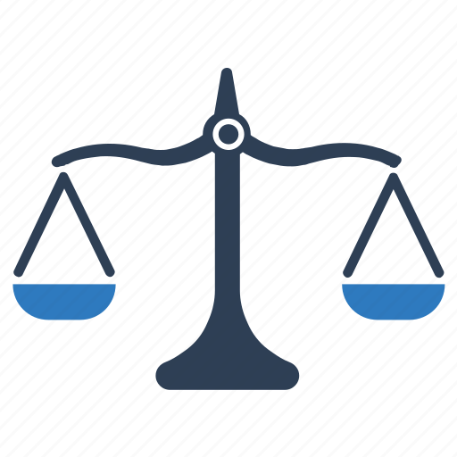Balance, balance scale, justice, law, weight icon - Download on Iconfinder