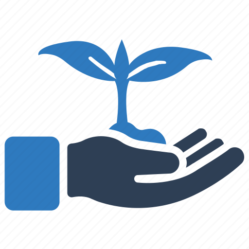 business startup, plantation, startup icon