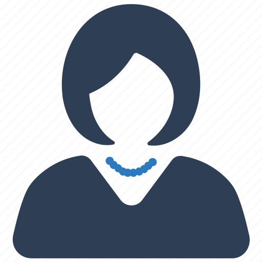 avatar, businesswoman, user, woman icon