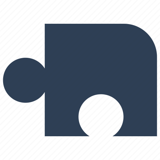 game, puzzle piece, solution icon