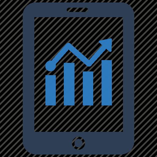 analysis, data, data analysis, mobile icon