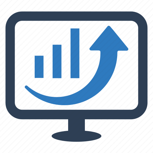 analytics, business growth, graph, profit, statistics icon