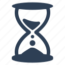 deadline, hourglass, time management, timer icon