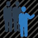 adviser, group, team, team work icon