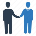 agreement, business, business deal, business partnership, collaboration, handshake icon