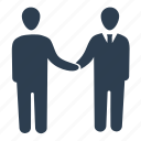 agreement, business deal, business partnership, collaboration, handshake icon