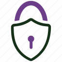 defence, locked, privacy, protect, protection, safety, security icon