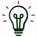 brainstorming, business, business idea, creative, idea, light bulb, seo icon