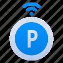 parking, technology, internet, smart, city, network, connection