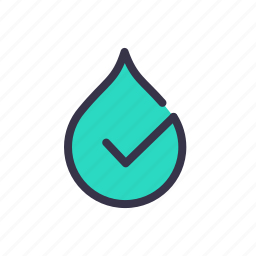 city, good, healthy, purify, smart, water icon