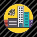 automated, automatic, building, city, construction, developement, smart icon