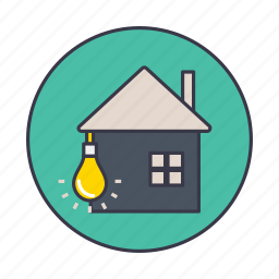 city, devleope, energy, home, house, smart, window icon