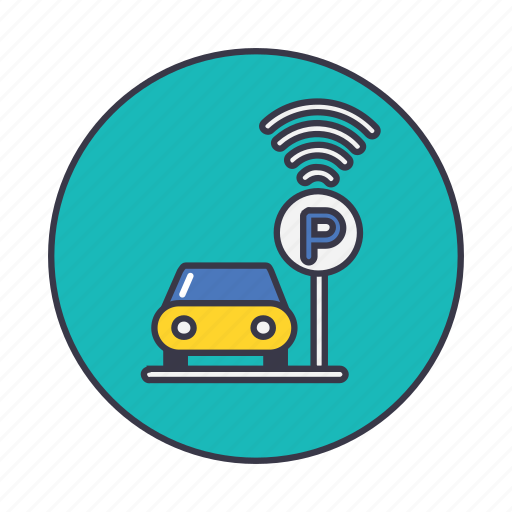 Automatic, car, park, parking, smart, vehicle icon Car Parking Icon Png