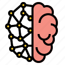 brain, intelligent icon
