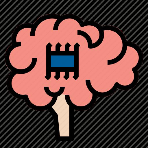 brain, creative, intelligent icon