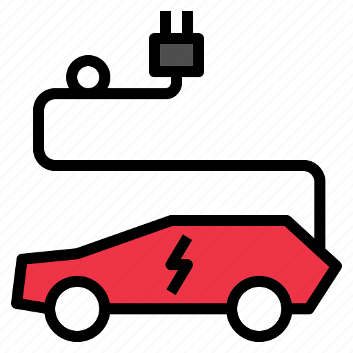 car, ecology, electric icon