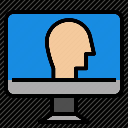 computer, smart icon