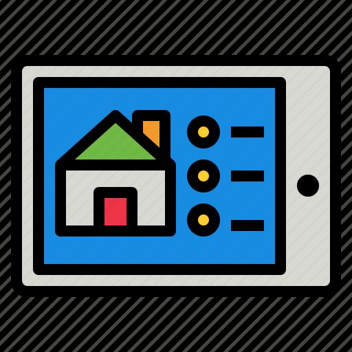 control, home, smart icon