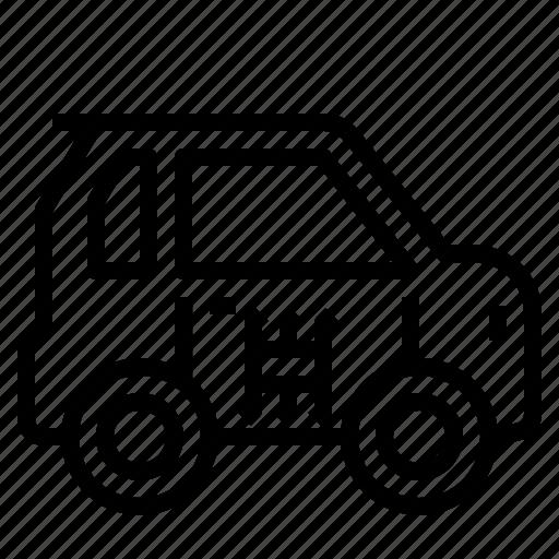 car, driverless, smart icon