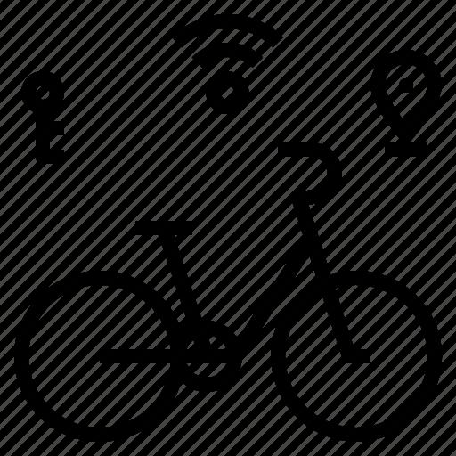 bike, smart icon