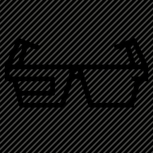 glasses, smart icon