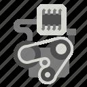 engine, smart icon