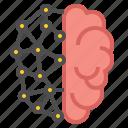 brain, intelligent, smart icon
