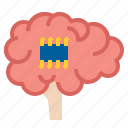 ai, brain, intelligent icon