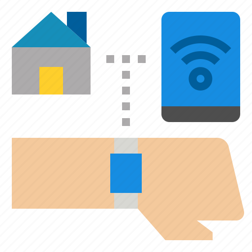 connect, device, mobile, phone, smart icon