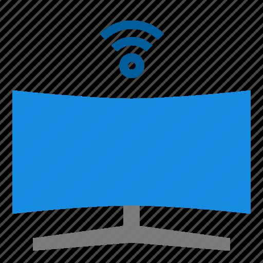 smart, tv icon