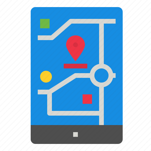 phone, smart, tracking icon